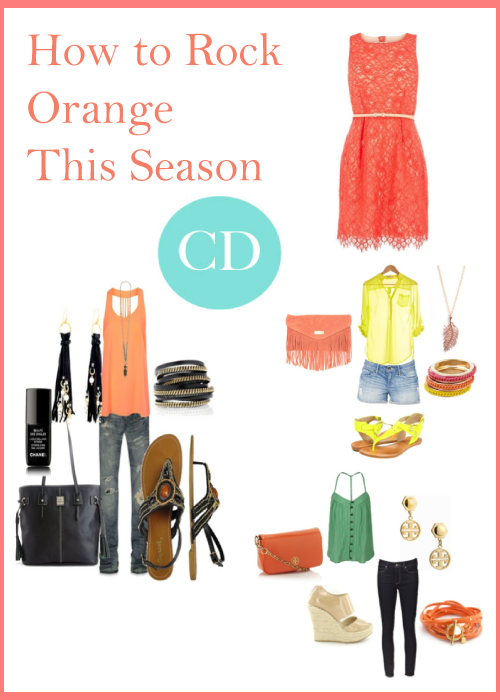 Colour Trend of the Season- Orange
