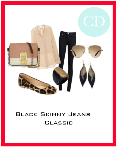 What to Wear With Black Skinny Jeans Trend Black Skinny Jeans