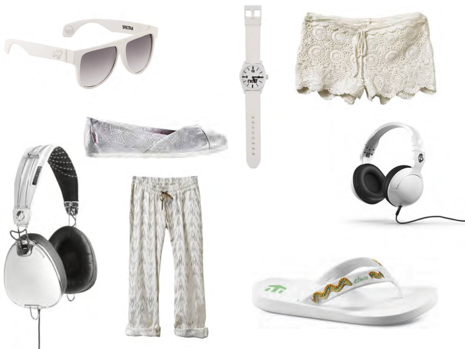 How to rock white this summer.