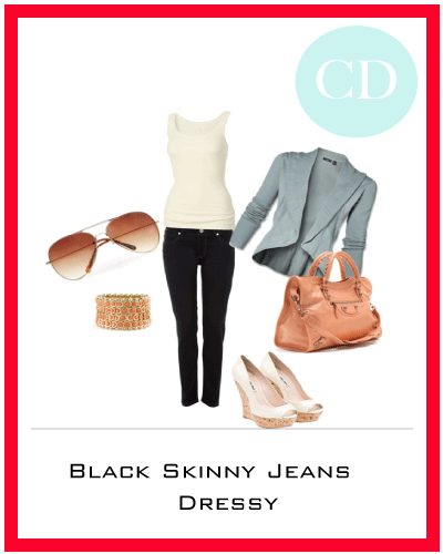 Trend- Black Skinny Jeans