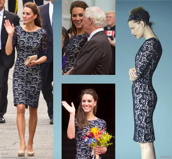Kate Middleton style blog Erdem