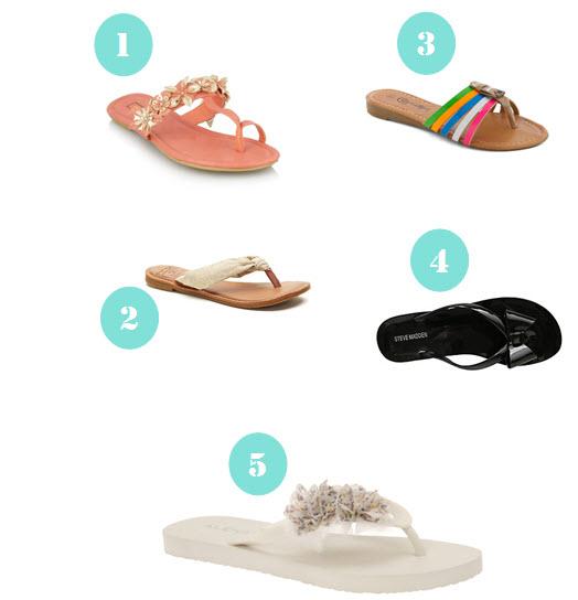 Fun Summer Flip-flops