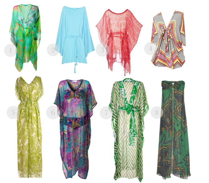 How to rock Kaftans- Mui Mui