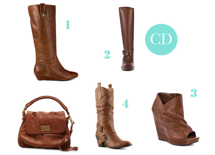 Cognac Boots for Fall