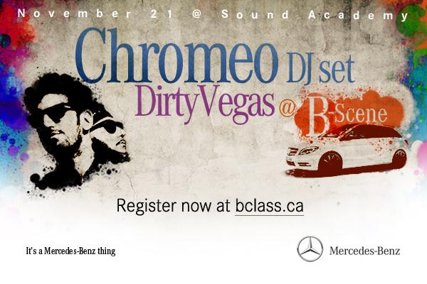 Chromeo  Mercedes B-Class