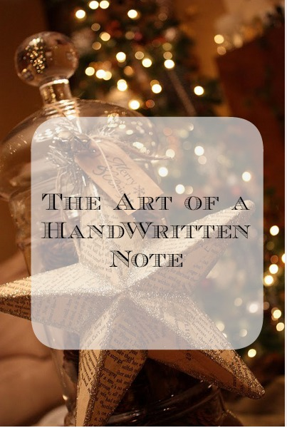 The art of a Thank-You Letter