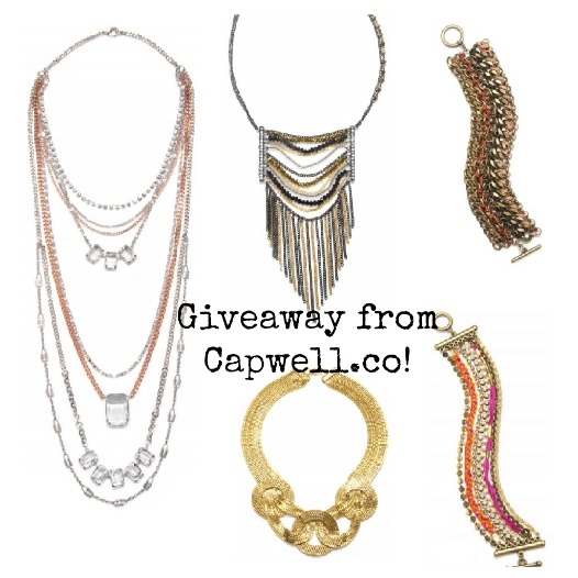 A Bit of Bling (A Capwell.co Giveaway!)