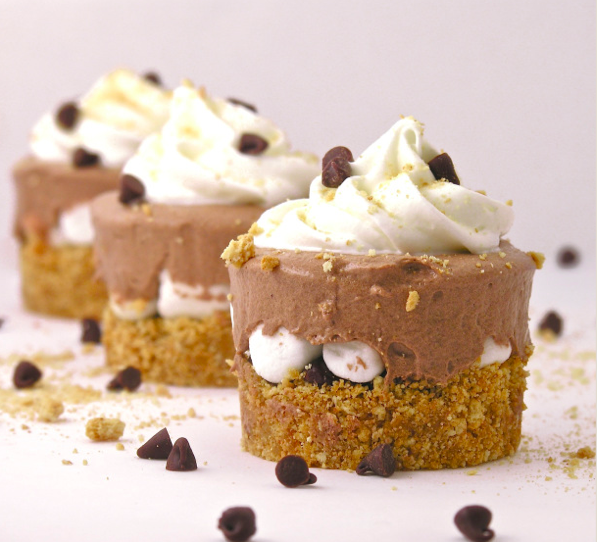 Frosty Smore Cups Recipe