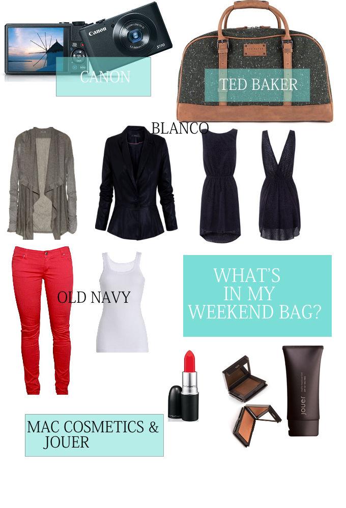 Weekend Getaway Necessities