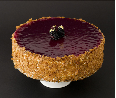 Blackberry NY Cheesecake