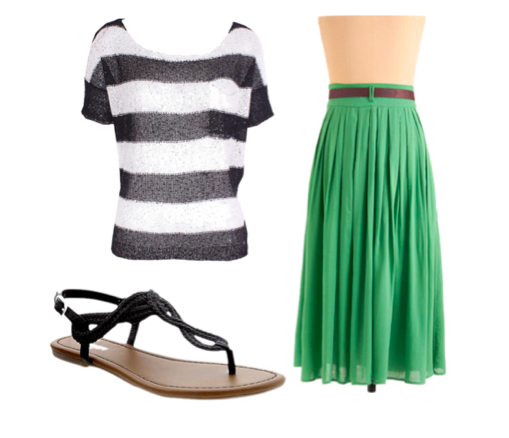 Casual Ways to wear emerald green