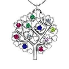 Jewlr Family Tree Pendant