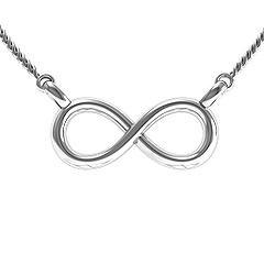 Jewlr Infinity Necklace