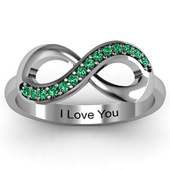 Jewlr Infinity Ring