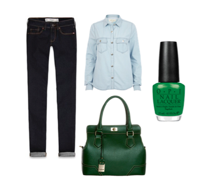 Ways to Wear Emerald Green