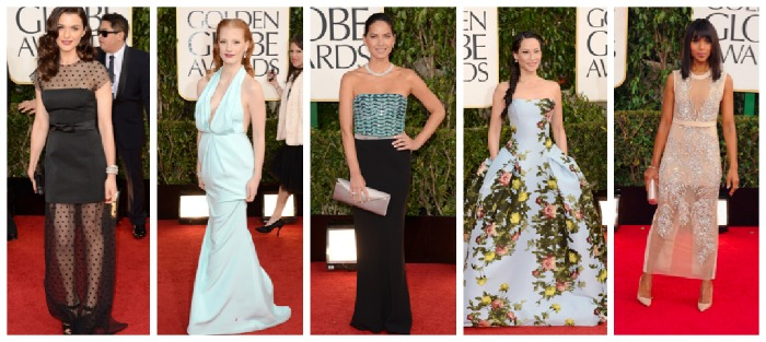 Worst Dressed at the Golden Globes 2013