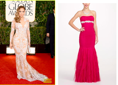 JLo Golden Globes Dress