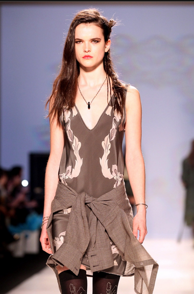 Chloe Comme Parris Toronto Fashion Week 2013