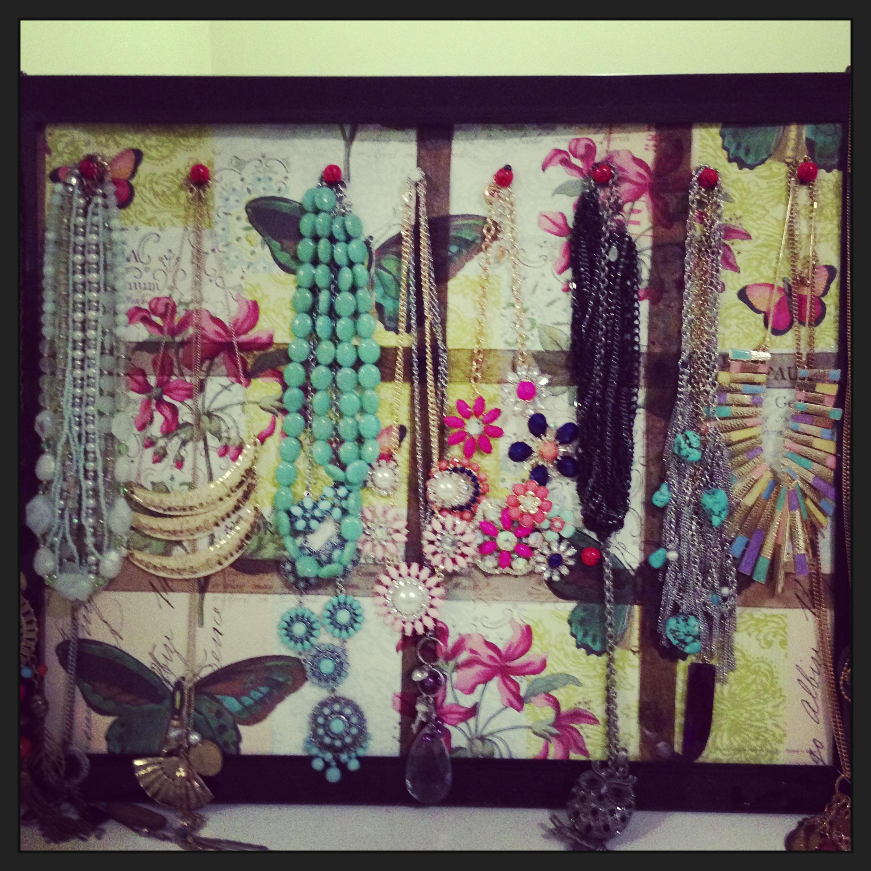 Diy Jewelry Organizer Diy Jewelry Hanger