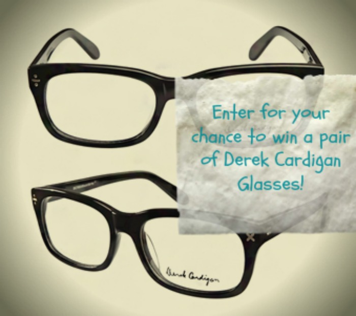 GIVEAWAY: Your Choice of Derek Cardigan Glasses!