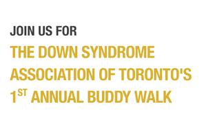 First Annual Buddy Walk- Toronto