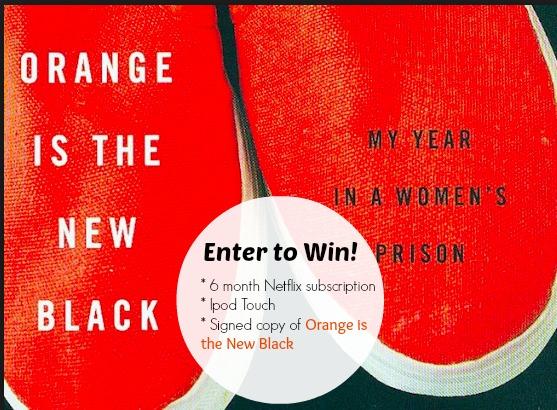 Orange is the New Black + Netflix Giveaway!