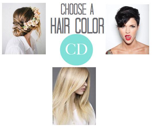 Choosing a Hair Color