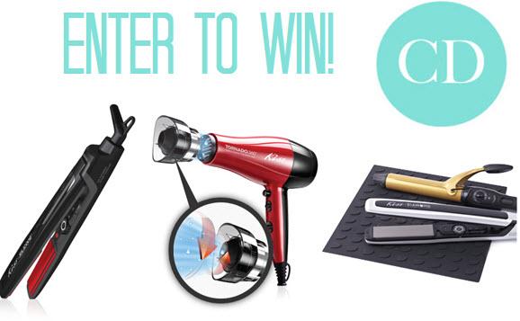 Kiss Hair tools, hair straightener, hair dryer, fall trends 2013