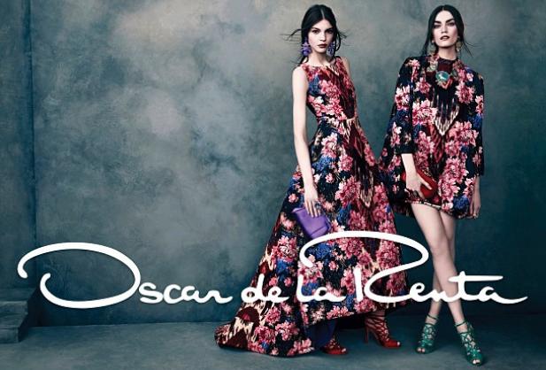Oscar de la Renta fall/ winter 2013 Ad Campaign, fall trends 2013