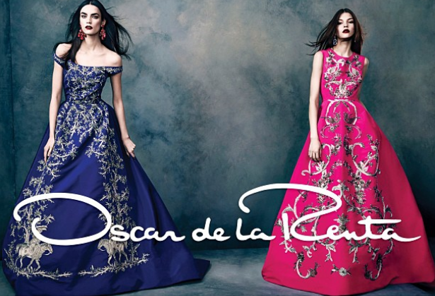 Oscar de la Renta fall/ winter 2013 Ad Campaign, fall trends 2013