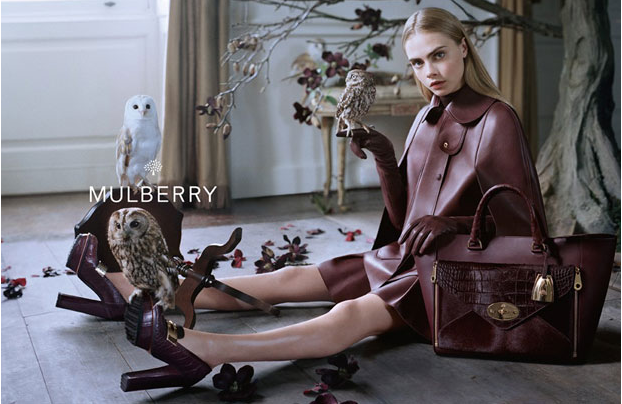 Mulberry Fall Winter 2013 Ad Campaign