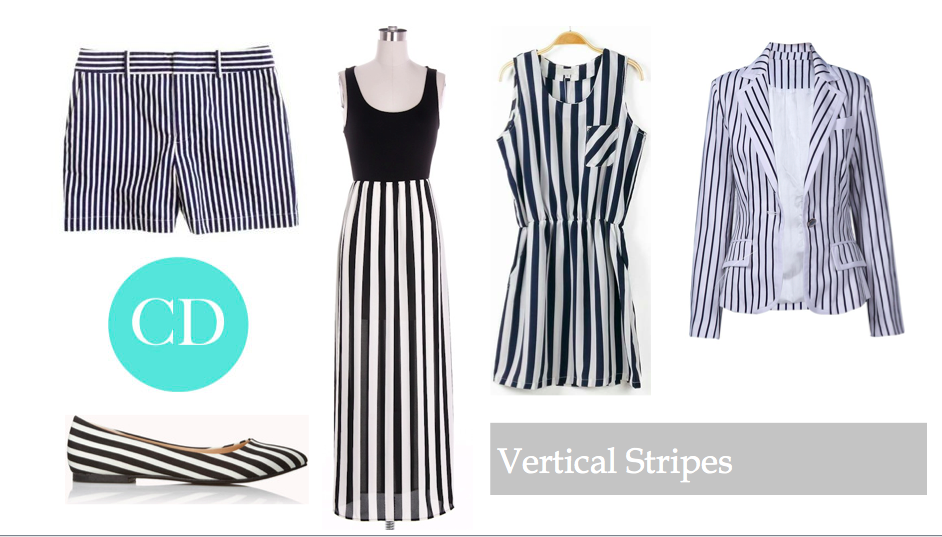 black and white vertical stripe outfit