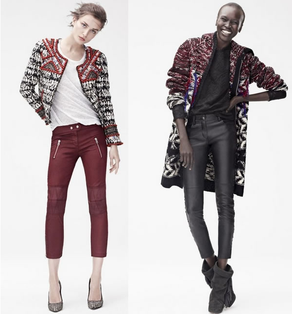 Isabel Marant for H&M look book, chicdarling, fashion trends