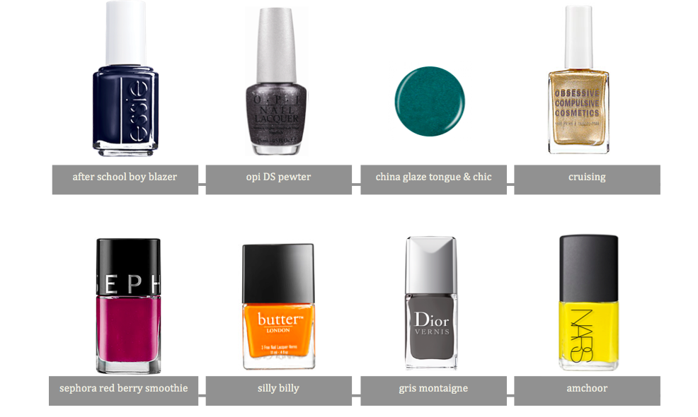 best fall nail polish