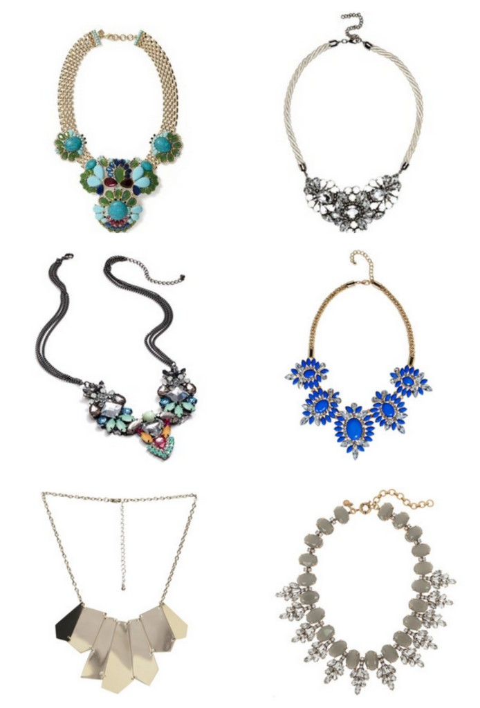 statement necklaces, statement necklace, fashion trends, fall trends