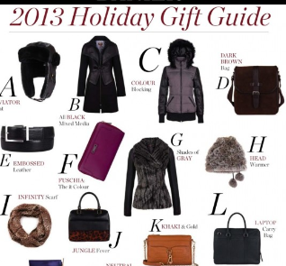 holiday gift guide, leather gift guide, danier leather