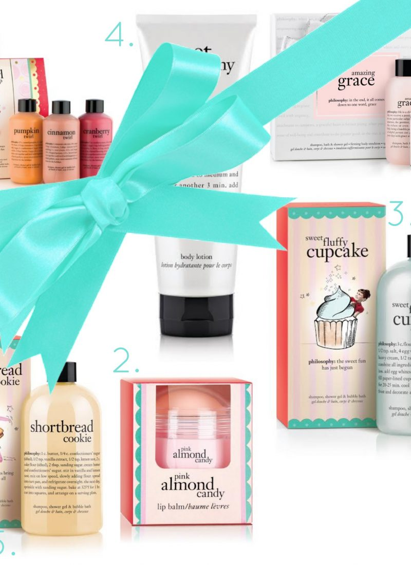 OUR FAVOURITE THINGS GIVEAWAY: $160 PHILOSOPHY PRODUCTS