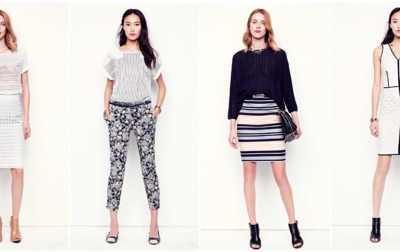 Ann Taylor Spring 2014 Collection, fashion blog, canadian fashion magazine, canadian fashion bog,