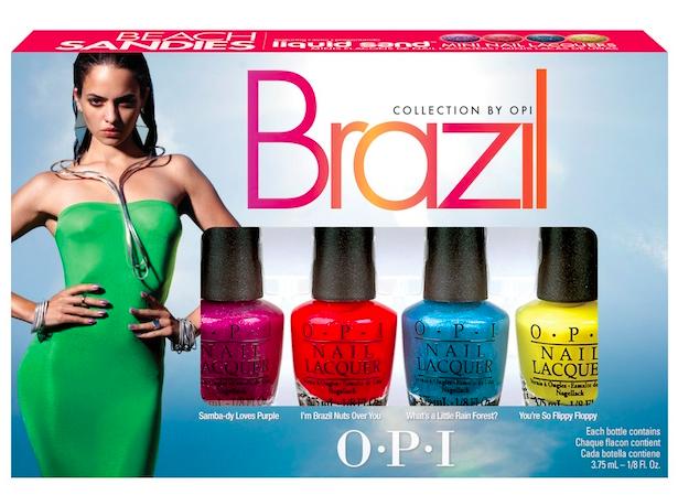 OPI SUMMER 2014, OPI Brazil Beach Sandies Liquid Sand Mini Pack