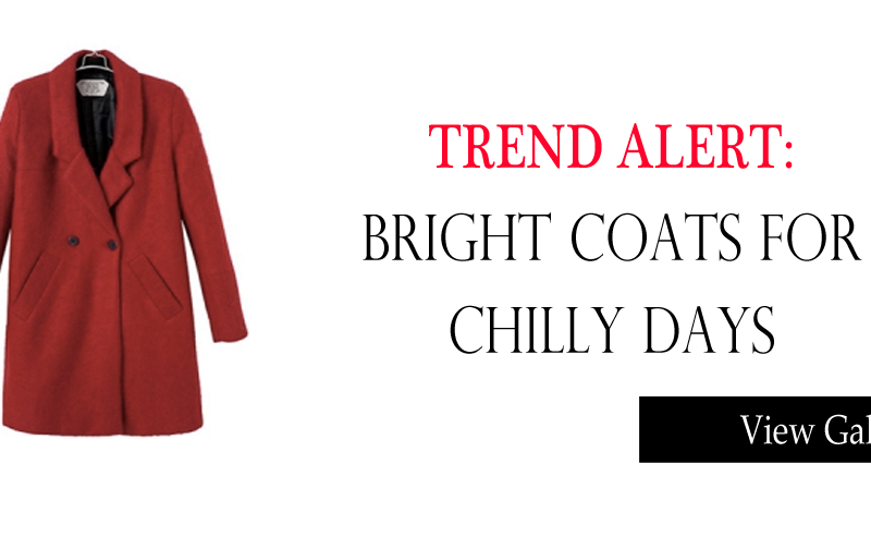 How to Wear: Bright Coats