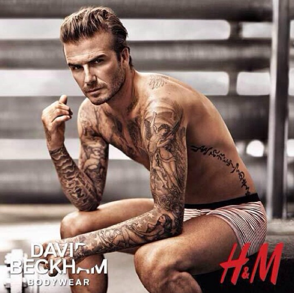 David Beckham For H&M Superbowl 2014, superbowl commercials 2014