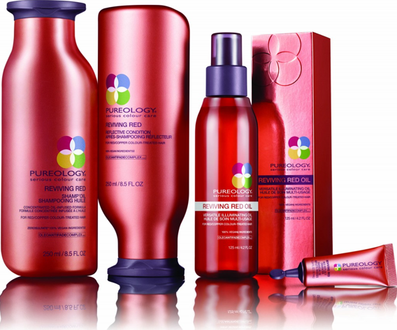 Pureology Reviving Red  (+Giveaway!)