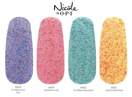Nicole by OPI, nail trends, nail polish trends, textured polish, Chicdarling, roughles