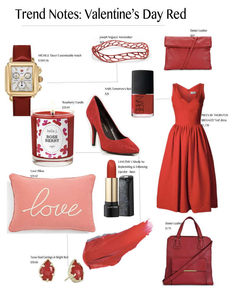 valentine's day gift ideas, red gift ideas, Joseph Nogucci,