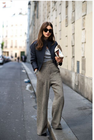 Wide leg trousers trend, fashion trends, toronto fashion blog