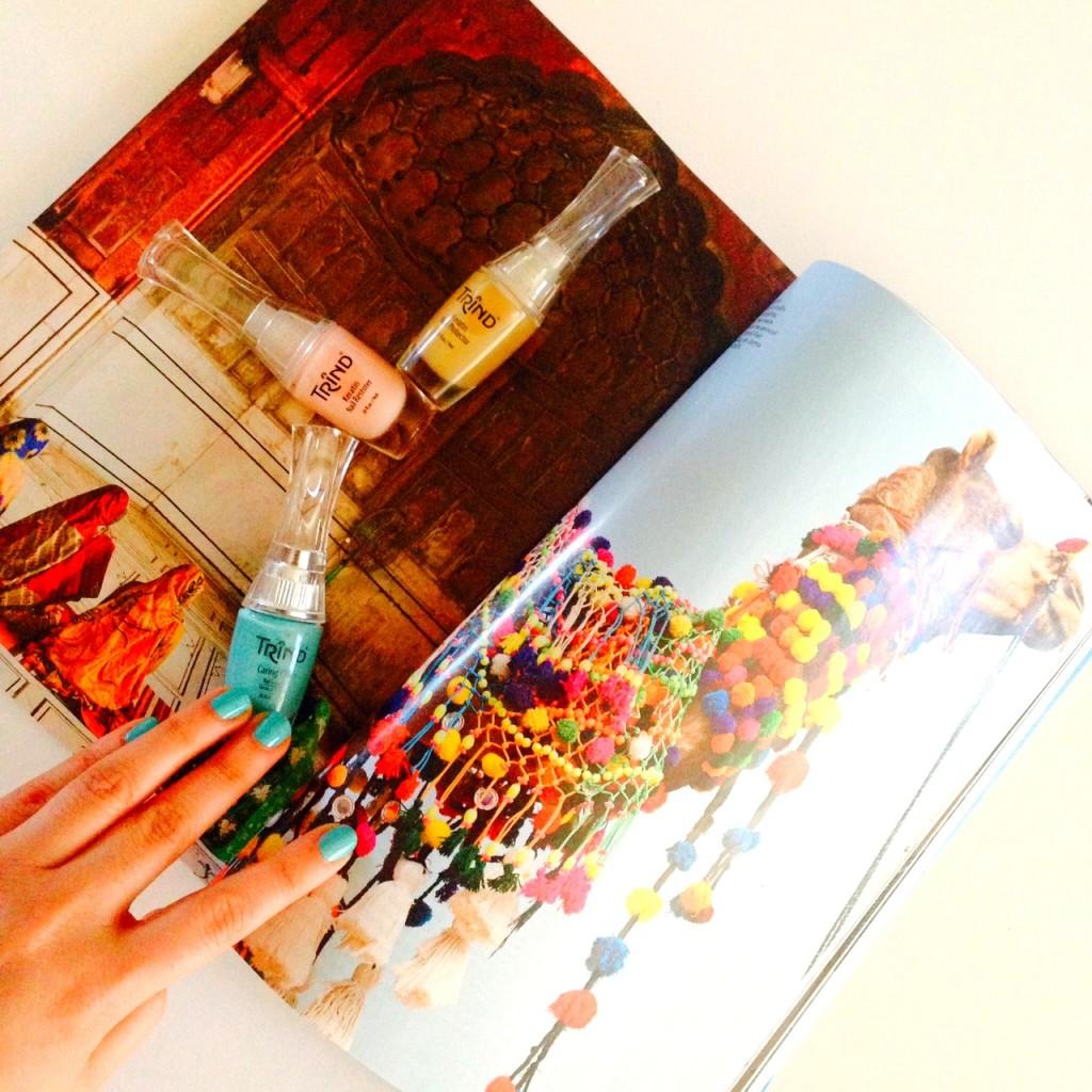 Trind spring summer 2014, nail polish, bright nail polish colours, Charming Media, ChicDarling