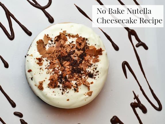 Recipe: No Bake Nutella Cheesecake