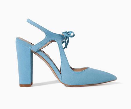 pastel shoe, blue pastel shoe, Zara pastel shoe