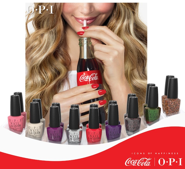 Coca Cola by Opi, OPI collections