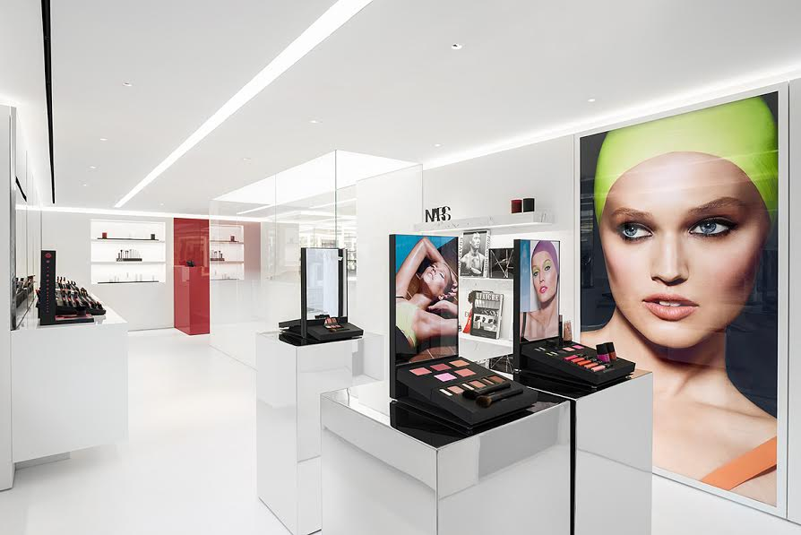 Nars in NYC, NARS boutique in NYC